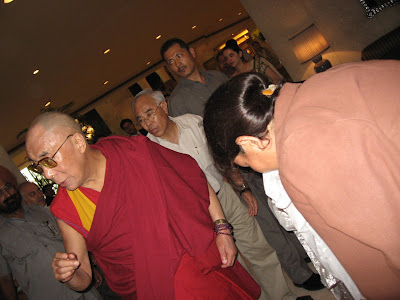 Dalai Lama in New Delhi