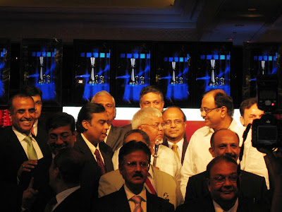 Ministers and Industry Leaders at NDTV Profit Awards