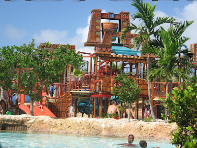 Splashers Pool, Atlantis, Bahamas