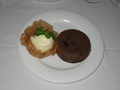 Vulcano Dessert at Casanova Pune
