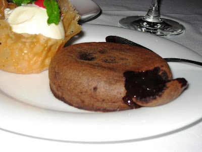 Molten chocolate Vulcano at Casanova Pune