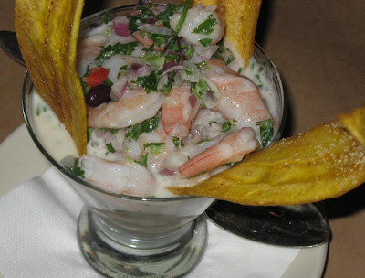 Ceviche at La Bodeguita Del Medio in Palo Alto
