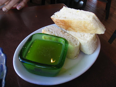Bread plate at Cascal
