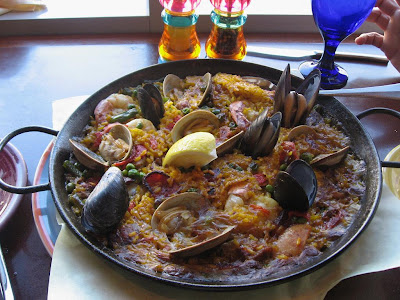 Seafood Paella at Cascal