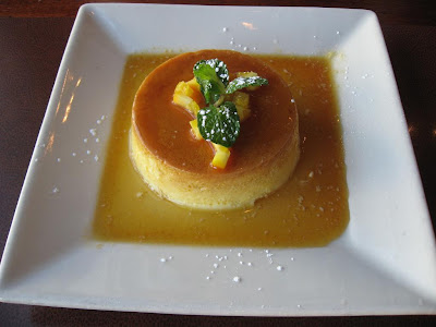 Flan at Cascal