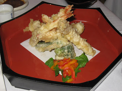 Prawn Tempura at Fuki Sushi