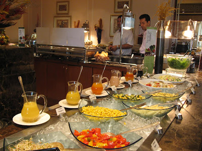 Lunch Buffet at Hornby's Pavillion