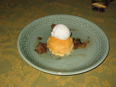 Thai Mango Dessert at The Spice Route