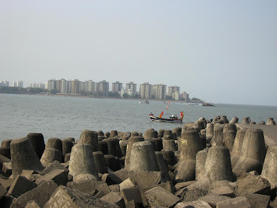 Wavebreakers at Nariman Point Mumbai
