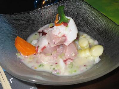 Seafood Cebiche at La Mar