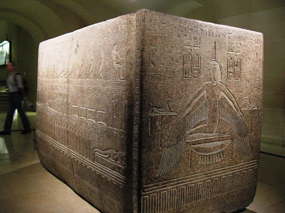 Stone Sarcophagus at Louvre