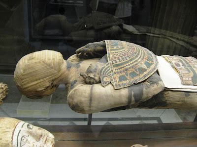 An Egyptian Mummy at the Louvre