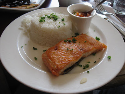 Salmon in Paris