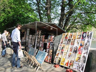 Vendors on the Quay in Paris