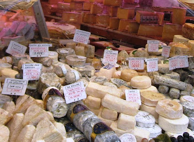 Artisan cheese in Paris