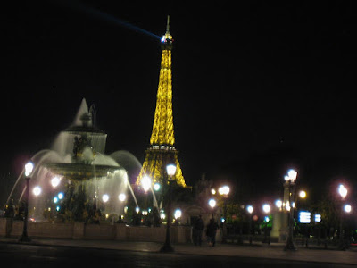 The Eiffel at Night