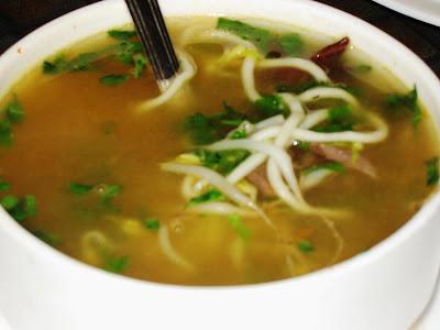 Pho Chiru Mutton Soup at Malaka Spice