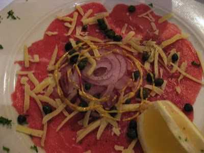 Carpaccio at Don Giovanni