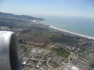 Flying out of San Francisco