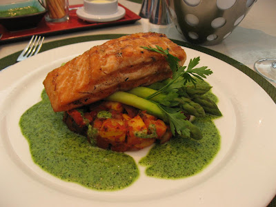Grilled Salmon at Bay 223