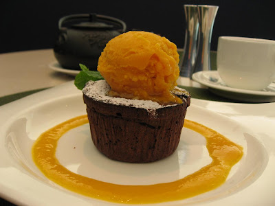 Mango-Chocolate delight at Bay 223