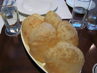 Pooris at Oh! Calcutta