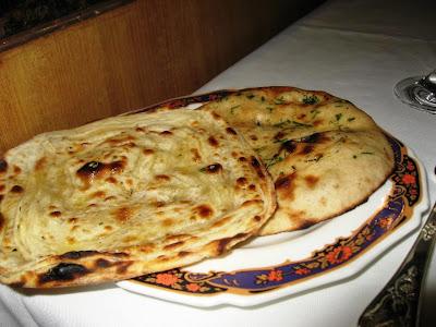 Speciality breads at Dum Pukht Kolkata