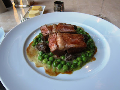 Roasted Veal Loin at Adour, DC
