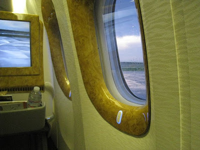 Emirates Business Class Windows
