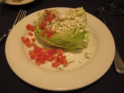 Lettuce Wedge in Sullivans