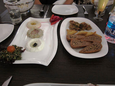 Mezze Platter at Paprika Hot Rocks