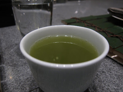 Matcha tea at Edo Bangalore