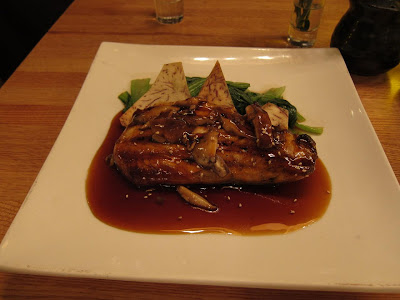 Grilled Salmon Teriyaki at Haru