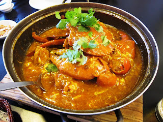 Chilli Crab at Jumbo Singapore