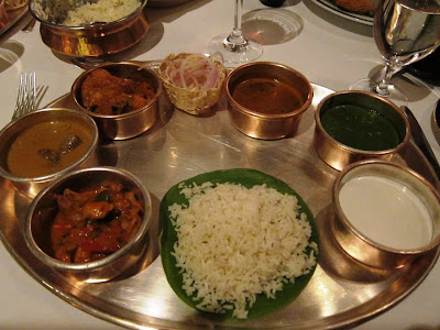 The Esphahan Thali at Amarvilas
