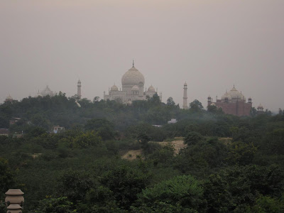 The Taj from Oberoi Amarvilas