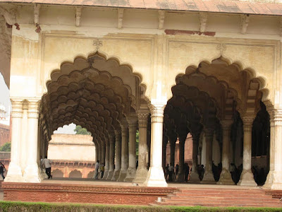 Deewan-i-Aam at Agra Fort
