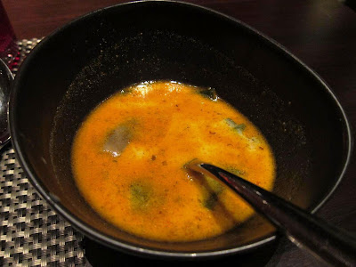 Laksa Soup at Shakahari Pune Marriott