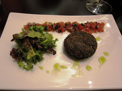 Crusted Portobello mushroom at La Terrazza Pune