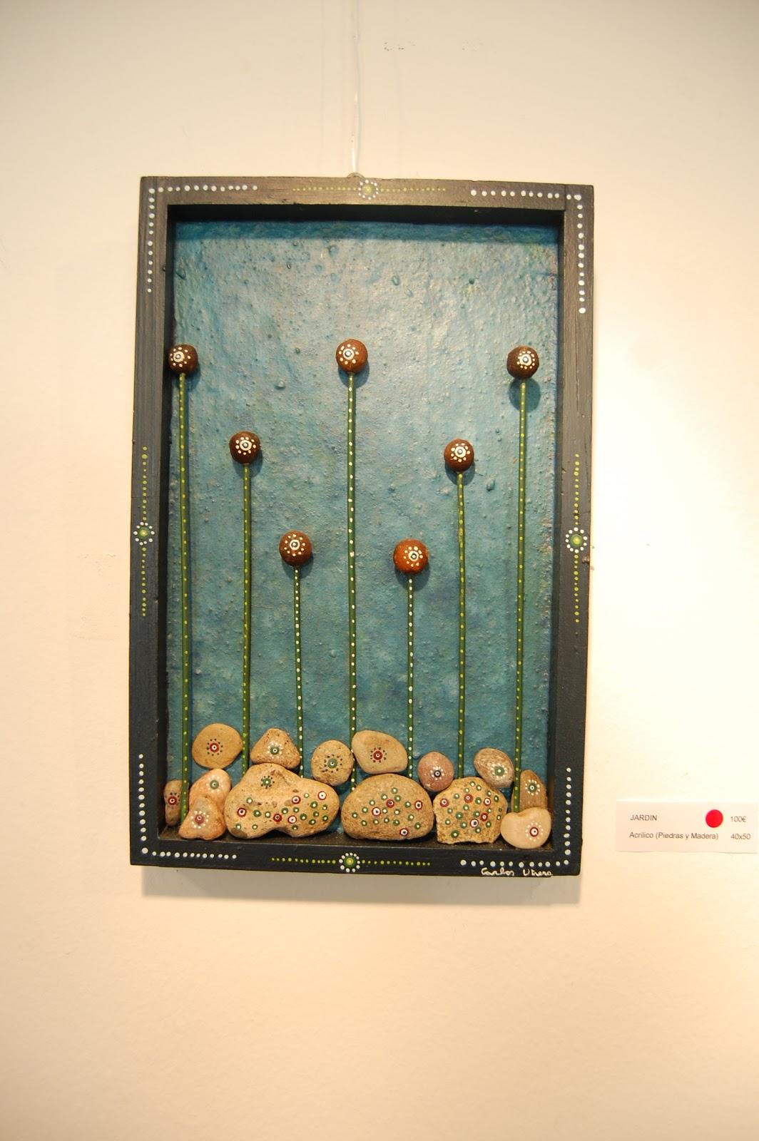 Habitar un cuadro jardin - Cuadros con piedras ...