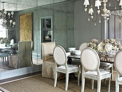 add a mirror i love an inexpensive fix and a mirrored wall would