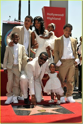 diddy hollywood walk of fame star picture
