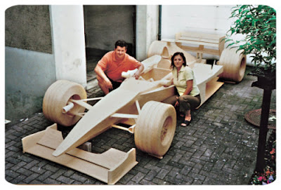 Man Builds Full Scale F1 Car From 956,000 Matchsticks Michael Arndt 07