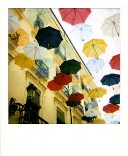 photo of umbrellas