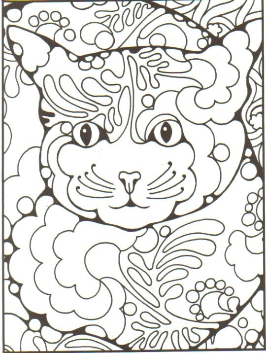 Free Coloring Pages Of Zentangle Animals Zentangle Coloring Page