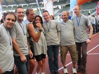 Faros team haalt 124ste plaats