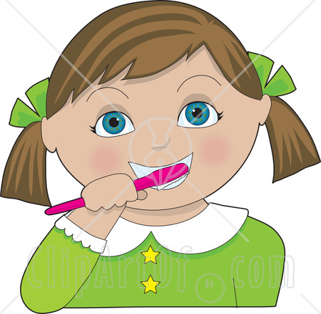 Kid Brushing Hair Clipart Hairspray musical clipart