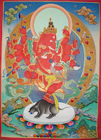 Ganesha Thanka