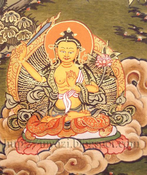 Buddhist Medicine Mandala ManjuShree