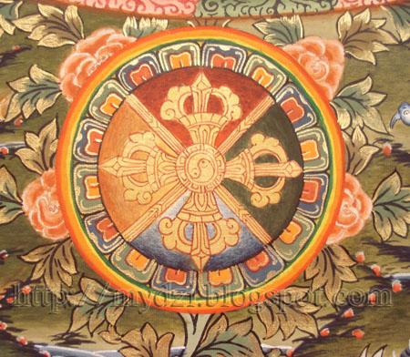 Buddhist Medicine Mandala Vajra